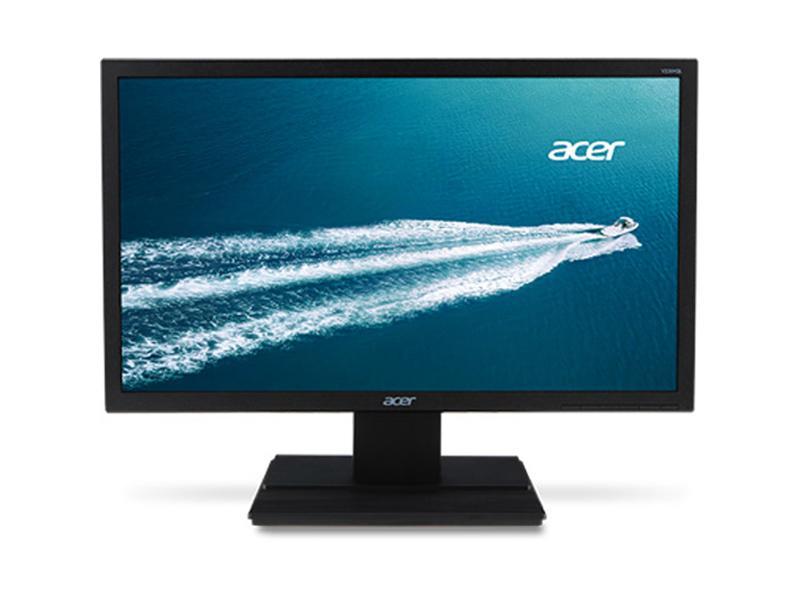 Acer V246HQL BI,AG,24 wide (23.6 viewable) ,1920 x 1080,1,000:1,5ms ,250 cd/m2 ,VGA, HDMI,Black,Three years, UM.UV6AA.003, LCD Monitor