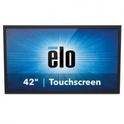 Elo 4243L 42-inch wide Open Frame, WW, Full HD with LED backlight, IntelliTouch (SAW) Dual-touch, USB, Clear, Bezel, VGA & HDMI video interface, Gray, E000444, Digital Signage Display