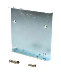 Kingston 2.5 inch to 3.5 inch drive adapter bracket w/ screws, SNA-BR2/35, Brackets and Screws