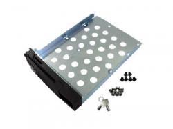 QNAP BLACK HD TRAY FOR 2.5 & 3.5-INCH HDD, SP-TS-TRAY-BLACK, Drive Bay Adapter