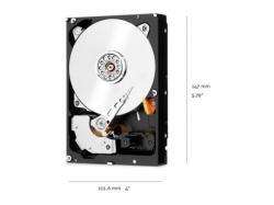 WD Red Pro 4TB SATA 6GB/S 128MB 7200RPM 3.5  5 YEARS WARRANTY, WD4003FFBX, Hard Drive