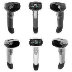 Zebra DS2208-SR, BLACK USB KIT: DS2208-SR00007ZZWW SCANNER, CBA-U21-S07ZBR SHIELDED USB Cable, DS2208-SR7U2100AZW, Handheld Barcode Scanner