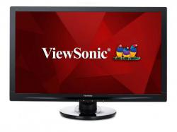 Viewsonic LED Display - 24 Inch - 1920 x 1080 - 300 cd/m2 - 1000:1 Static; 50,000,000:1 Dynamic - 5 Ms - VGA, HDMI, VA2446MH-LED, LCD Monitor
