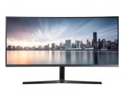 Samsung C34H890 34 21:9 Ultra-wide Curved Monitor 34 Wide Curved 21 : 9 1800R VA UWQHD 3440 x 1440 3 yrs warranty 1.5m power cable, HDMI cable, DP cable, Quick Setup Guide and Install CD included., LC34H890WGNXGO, LCD Monitor
