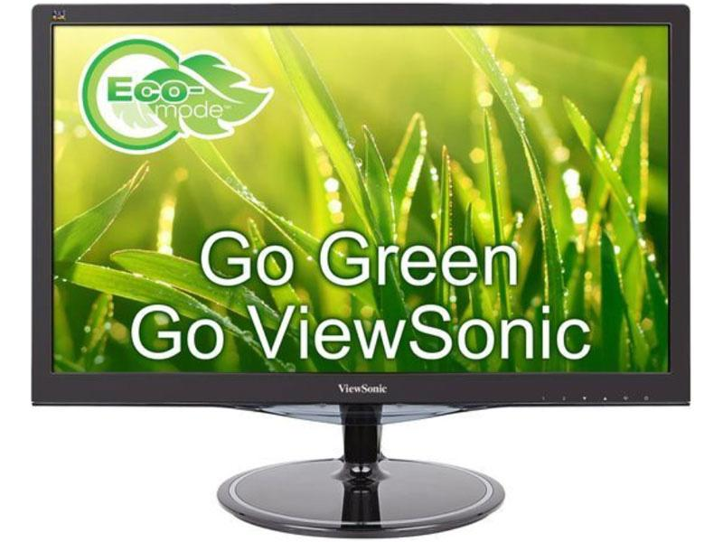 Viewsonic 24 (23.6 viewable) Full HD 1080p Monitor, 2ms response time with DisplayPort, HDMI, and VGA, VX2457-MHD, LCD Monitor