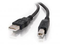 C2G 2m USB 2.0 A/B Cable - Black (6.6ft), 28102, Data Transfer Cable