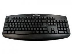 Seal Shield SILVER STORM Washable Keyboard - IP-66 washable, True Type, Full Travel Keys, 24k Gold USB, Dishwasher Safe & Antimicrobial Product Protection (Black), STK503