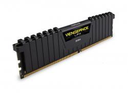 Corsair DDR4, 2666MHz 32GB 2 x 288 DIMM, Unbuffered, 16-18-18-35, Vengeance LPX Black Heat spreader, 1.2V, XMP 2.0, Supports 6th Intel Core i5/i7, CMK32GX4M2A2666C16, RAM Module