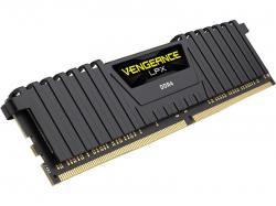 Corsair Vengeanc LPX 32GB (2x16GB) DDR4 DRAM 3000MHz C15 Memory Kit - Black (CMK32GX4M2B3000C15), RAM Module