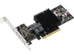 Asus PIKE II 3008-8i PCI-E 3.0 8-port SAS 12G RAID Kit - Software RAID,1 Year Warranty,8port SATA III/SAS II support RAID 0/1/10/1E, Storage Solution