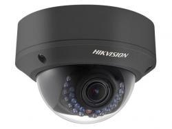 Hikvision Outdoor Dome Black, 4MP-30fps, H265+, 2.8-12mm Motorized Zoom/Focus Day/Night, 120dB WDR, Alarm I/O, Audio I/O, uSD, IR (30m), IP67, PoE/12VDC, DS-2CD2743G1-IZSB, Network Camera