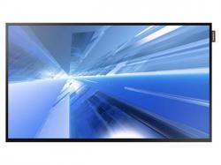 Samsung DC32E 1920 x 1080 32 60Hz D-LED with Ultra Clear Panel and slim bezel, USB Autoplay, MagicInfo Lite bezel width mm 10.5 (T/L/R), 15.0 (B) 5000:1 330brightness 3 Years warranty, LH32DCEPLGA/GO, Digital Signage Display