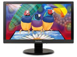 Viewsonic 20(19.5 Vis) Widescreen LED, 1920x1080, 250 nits, 3,000:1 Contrast Ratio, VGA and DVI inputs, integrated speakers, Energy Star and EPEAT Silver Certified, VESA mountable., VA2055SM, LCD Monitor