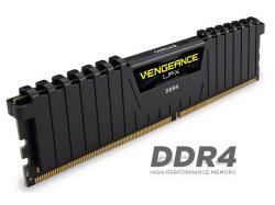 Corsair Vengeance LPX 16GB (2x8GB) DDR4 DRAM 3200MHz C16 Memory Kit - Black (CMK16GX4M2B3200C16), RAM Module