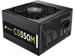 Corsair CX550M 550W 80PLUS Bronze, Semi-Modular, ATX12V v2.4 and EPS 2.92, 120mm fan, Skylake Z170 motherboards, AC input 100-240V, Power Cables include 1xATX/1xCPU/1xPCIe/SATA/4pin peripheral/1xFloppy, CP-9020102-NA, Power Supply