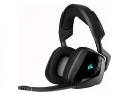 CORSAIR VOID RGB ELITE Wireless Premium Gaming Headset with 7.1 Surround Sound, Carbon, CA-9011201-NA