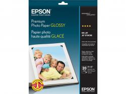 Epson Glossy photo paper - 8 in x 10 in, S041465, high-gloss photo paper
